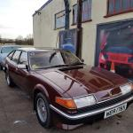 Dan's SD1 waits for some new brakes