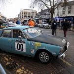Monte Carlo Historique cars meet in Banbury