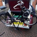 A bespoke carrier for the Velosolex