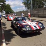 Le Mans infield
