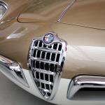 1955 Alfa Bertone Spider nose detail