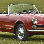 1962 Alfa Romeo 2000 Spider at Beaulieu