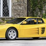 1989 Ferrari Testarossa at Beaulieu