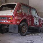 Lada Niva Paris Dakar rally car