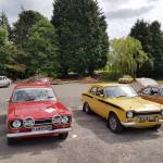 Tim's Ford Escorts, old and new