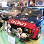 The UK-built ex-works Talbot Sunbeam joins a desirable Poissy-built road-going Peugeot 205 Turbo 16 Group B homologation