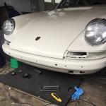 1967 Porsche 912 under restoration