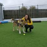 Heather at the RSPCA