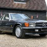 Mercedes-Benz R107 500SL (courtesy H&H)