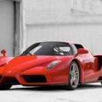 Pope John Paul II's Ferrari Enzo (RM Sotheby's)