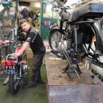 Nigel's workshop