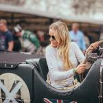 Katarina Kyvalova, Bentley 4.5 LM, John Duff Trophy (photo Nick Chivers)