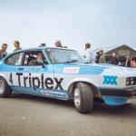 Triplex Ford Capri III 3.0S (photo Nick Chivers)