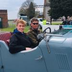Oliver in the Riley Speed 20