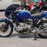 1981 BMW R100RT tourer turned cafe racer track bike