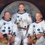 Apollo 11 crew - Armstrong, Collins and Aldrin (photo NASA)