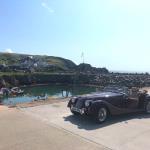 Morgan Plus 4 at Portpatrick
