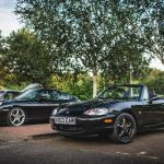 Porsche 911 (996) and the MX-5 (Photo Nick Chivers)