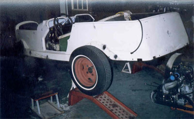 Restoration Tale: 1929 Mercedes Kit Car thumbnail