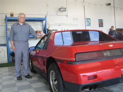 Donated 1986 Fiero up for Auction on eBay thumbnail