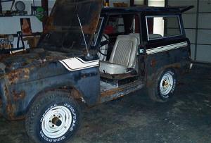 Restoration Tale '77 Bronco thumbnail