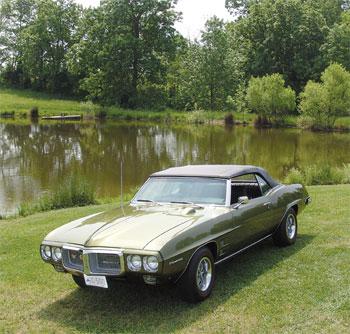 1969 Pontiac Firebird 350 H.O. convertible thumbnail