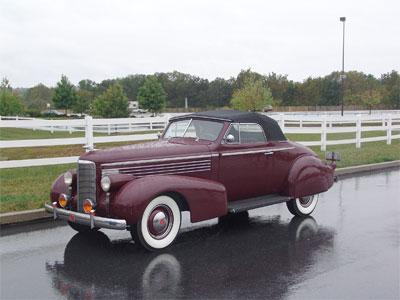 1938 LaSalle Convertible Coupe thumbnail