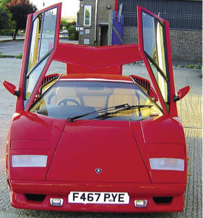 1988 Lamborghini Countach QV Anniversary thumbnail