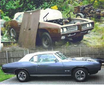 Before & After 1969 GTO thumbnail