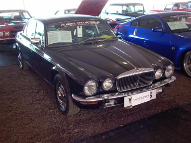 1977 Daimler Sovereign Vanden Plas