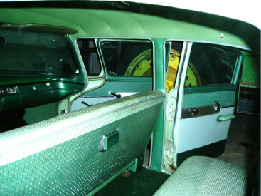 """""""The two-tone green interior was spectacular."""""""