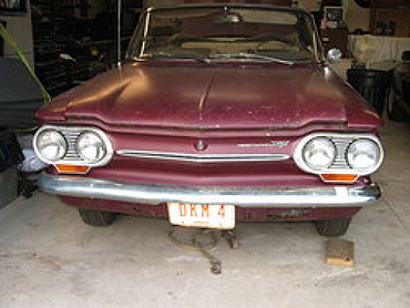 This 1963 Corvair Monza 900 Spyder was found on Craigslist for $1,300. It had sat in a barn since 1972.
