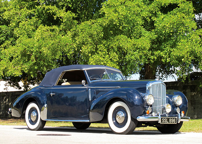 Standard Steel Bentley Mk VI sedans are the most pedestrian way into Post-WWII Rolls-Royce circles. This '47 crosses the block at RM's auction in 2011.