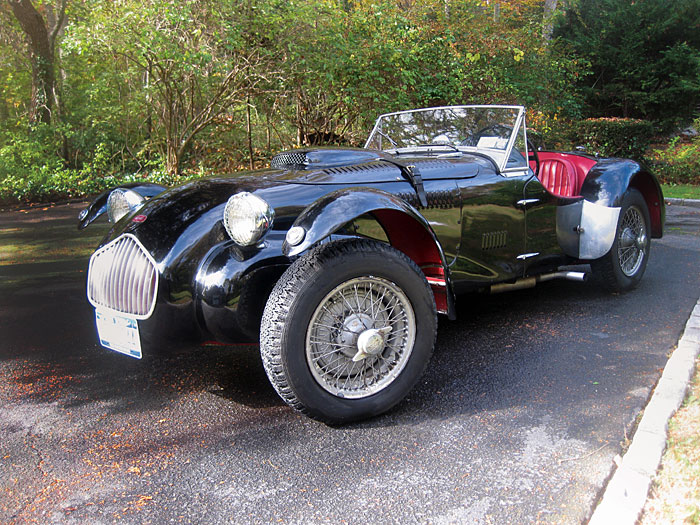 Allards are thumpingly efficient roadsters remain as competitive in vintage racing as they were when new.