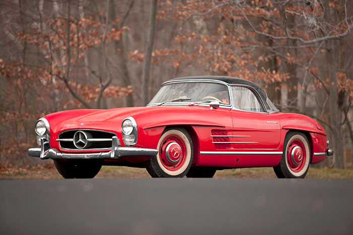 With just one owner for almost 50 years and only 7,367 original miles, it's hard to imagine a lower-mileage example of a 300SL anywhere outside the Mercedes-Benz museum at Unterturkheim.
