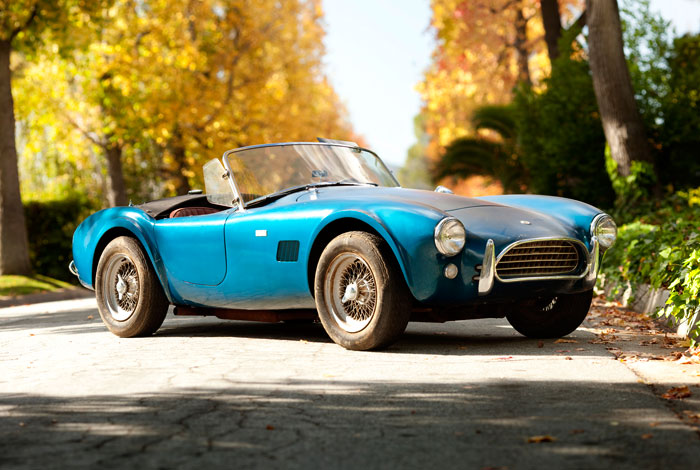 1964 Shelby Cobra 289 CSX2289 is an unrestored car that's one of five in a Gooding & Co sequence of consignments.