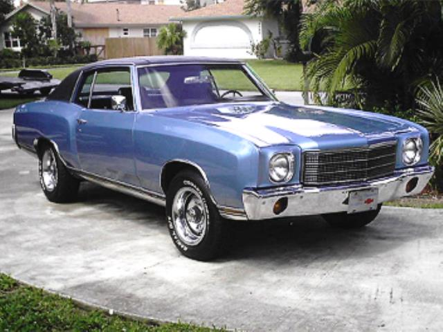 Classic Classified 1971 Chevrolet Monte Carlo Ss 454
