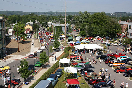 More than 600 classic cars and vehicles were on display on July 4 in Traverse City.