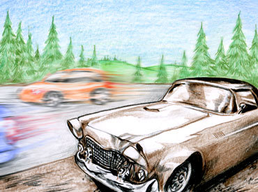 Losses and Lessons: Old drum brakes take the T-Bird away thumbnail