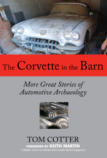 Corvette In The Barn