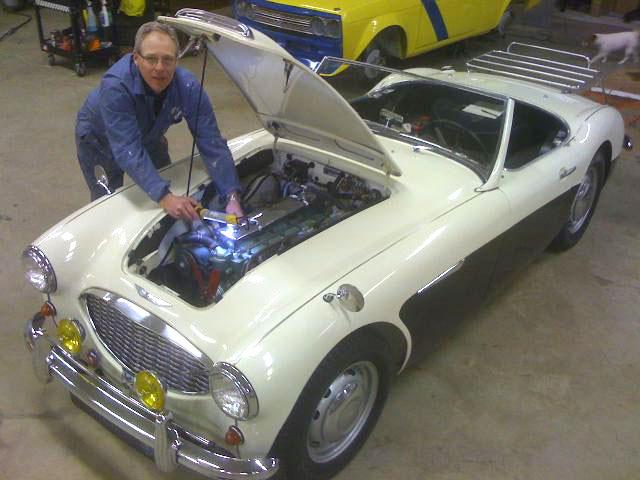 Our Cars: Paul Schneider's 1959 Austin Healey thumbnail