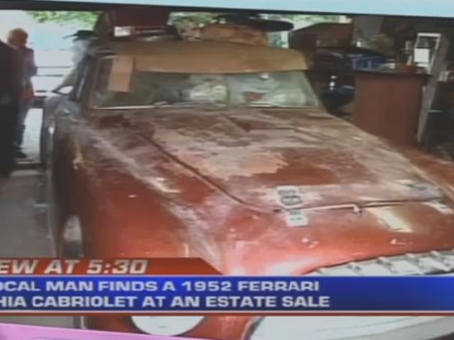 The Estate Sale Ferrari