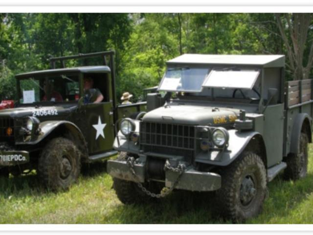 Classic Military Vehicles - Historic Military Vehicle