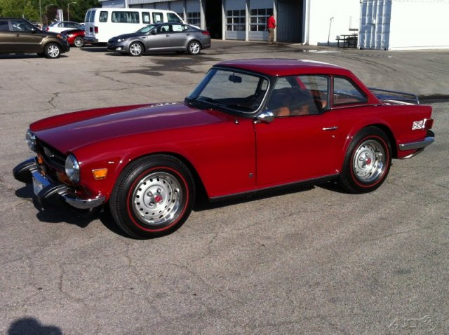 Recently on eBay: 1974 Triumph TR6 thumbnail