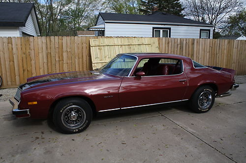 Recently on eBay: 1975 Chevy Camaro LT thumbnail