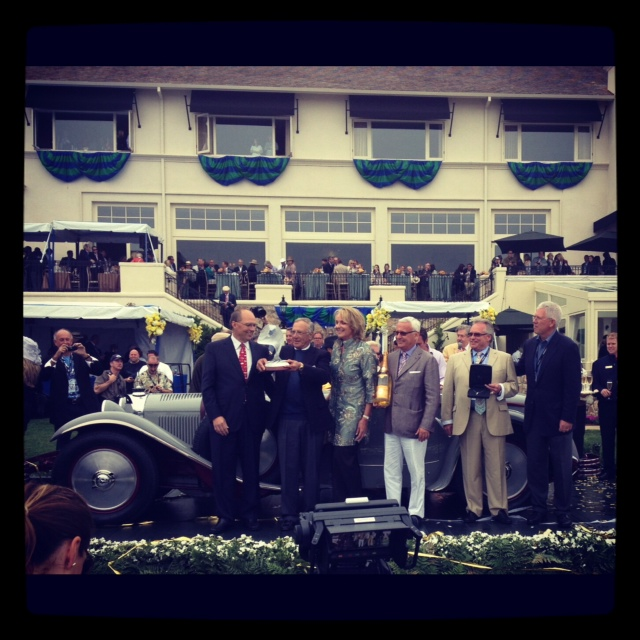 Monterey 2012: Concours brings out cars and characters thumbnail