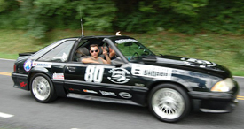 'Rattle Trap': '87 Mustang GT shakes up road rally thumbnail