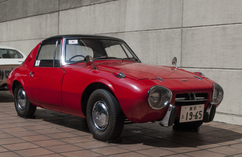 Toyota's first sports car can be a rare sighting thumbnail