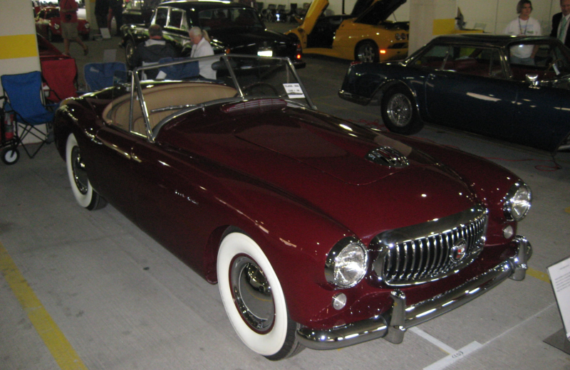Collector Classics: 1950 Nash Healey Roadster thumbnail