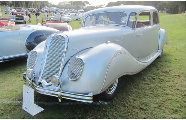 Vintage Panhard is front and centre thumbnail